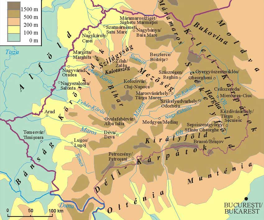erdély nevezetességei térkép Erdély látnivalói, tájak, szállások, utak erdély nevezetességei térkép